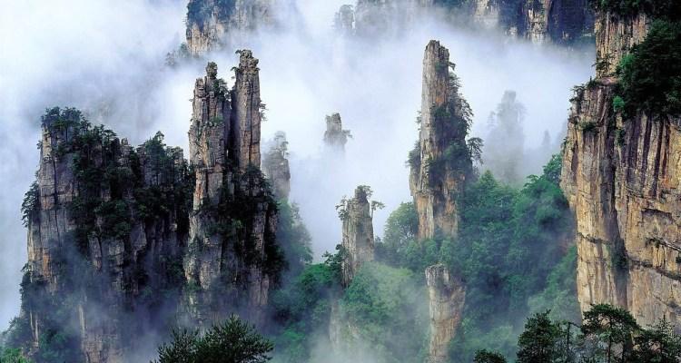 نتيجة بحث الصور عن جبال تيانزي