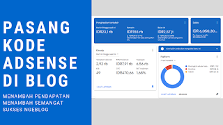 Tutorial Memasang Kode AdSense di Blogger