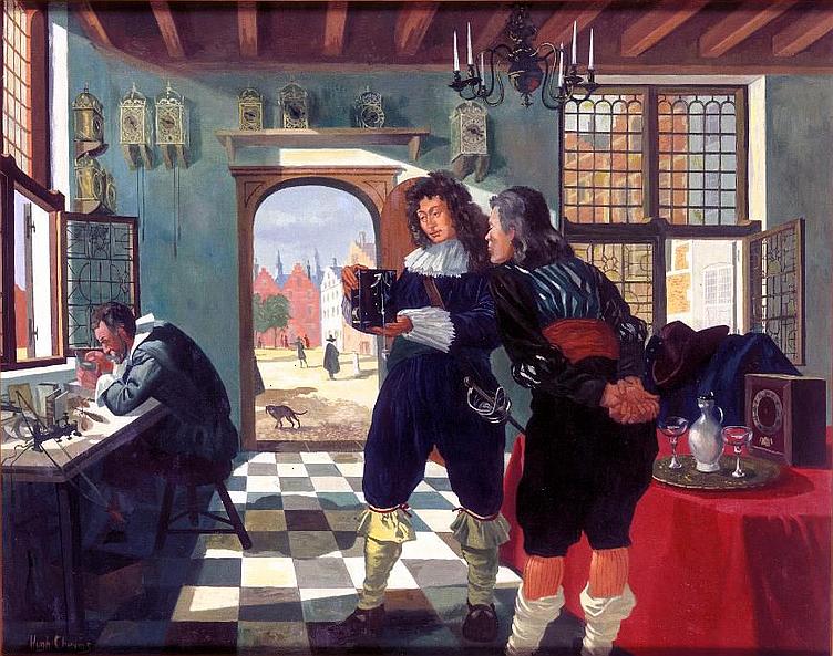 Christiaan Huygens e o Relógio de Pêndulo