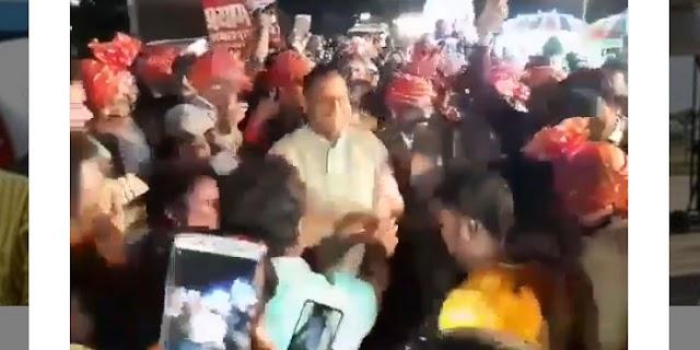 फरार बदमाश के साथ डांस कर रहे थे SP अमित सिंह: BJP   JABALPUR MP NEWS