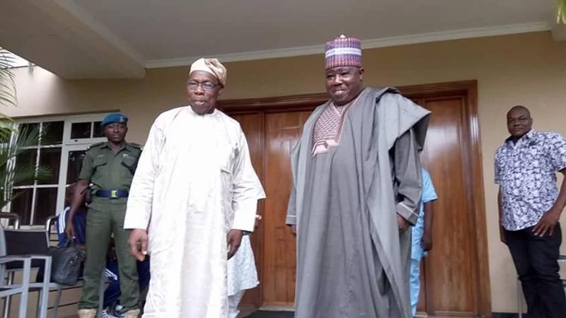 Obasanjo should sleep with Sheriff, Fayose suggests