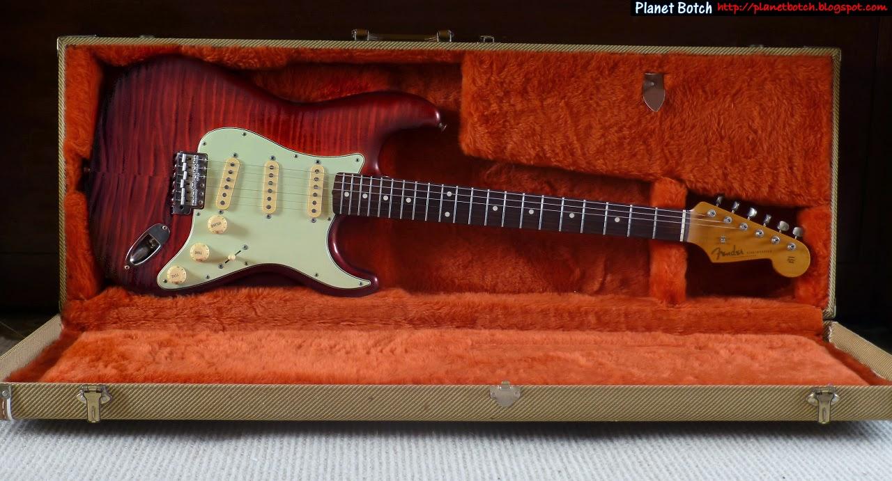 The Fender MIJ Photofinish / 'Foto Flame' Stratocaster