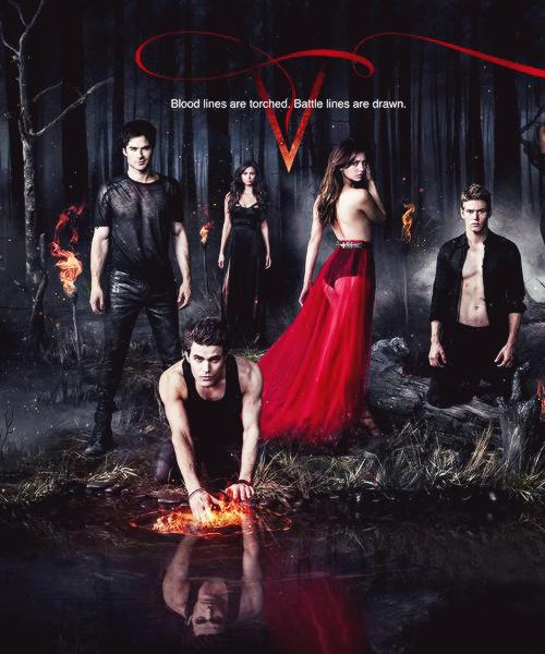 The Vampire Diaries Serie Completa 1080p Dual Latino/Ingles