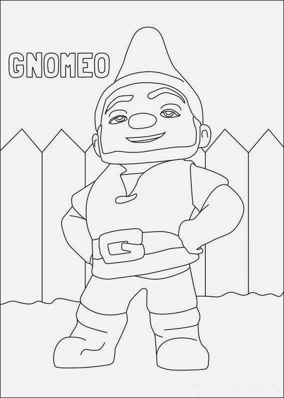 Fun Coloring Pages: Gnomeo And Juliet Coloring Pages