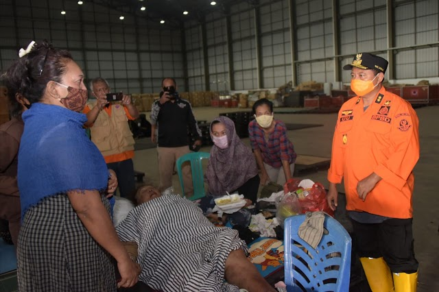Wagub Jabar Tinjau Banjir Bekasi,  Curah Hujan Tinggi Tanggul Jebol