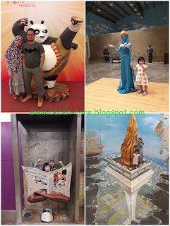 Keluarga Arisandy Joan Hardiputra Liburan ke Alive Star Museum Ancol