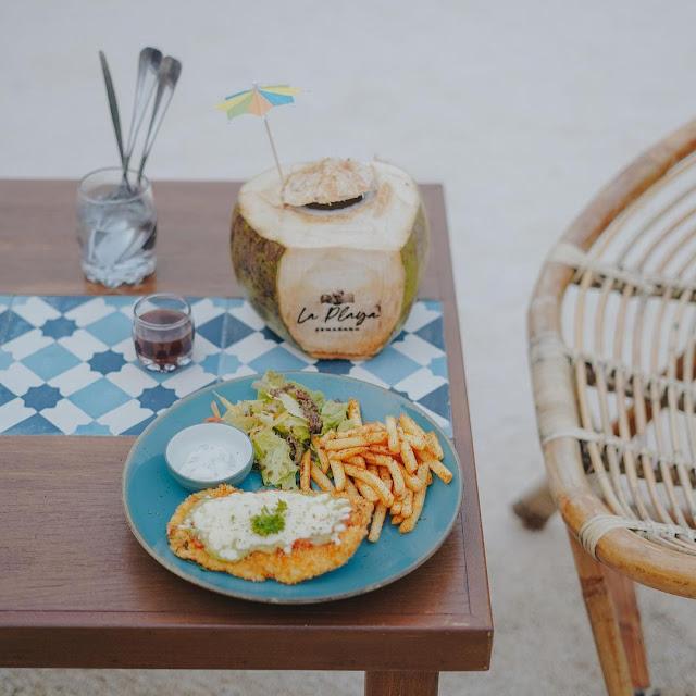 Harga Menu La Playa Cafe Semarang