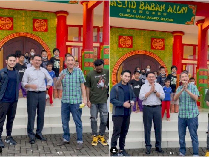Ahok Masuk Masjid, Bos Jalan Tol Jusuf Hamka Doakan BTP Dapat Hidayah dari Allah