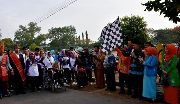 Kota Metro Peringati Hari Disabilitas Internasional