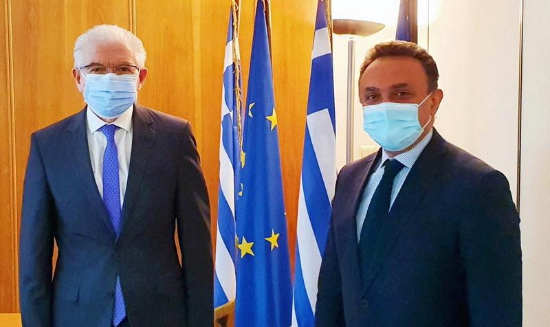 Την επιτάχυνση της καταβολής των αποζημιώσεων στους πληγέντες αγρότες ζήτησε ο Σταύρος Κελέτσης από τον Πρόεδρο του ΕΛΓΑ