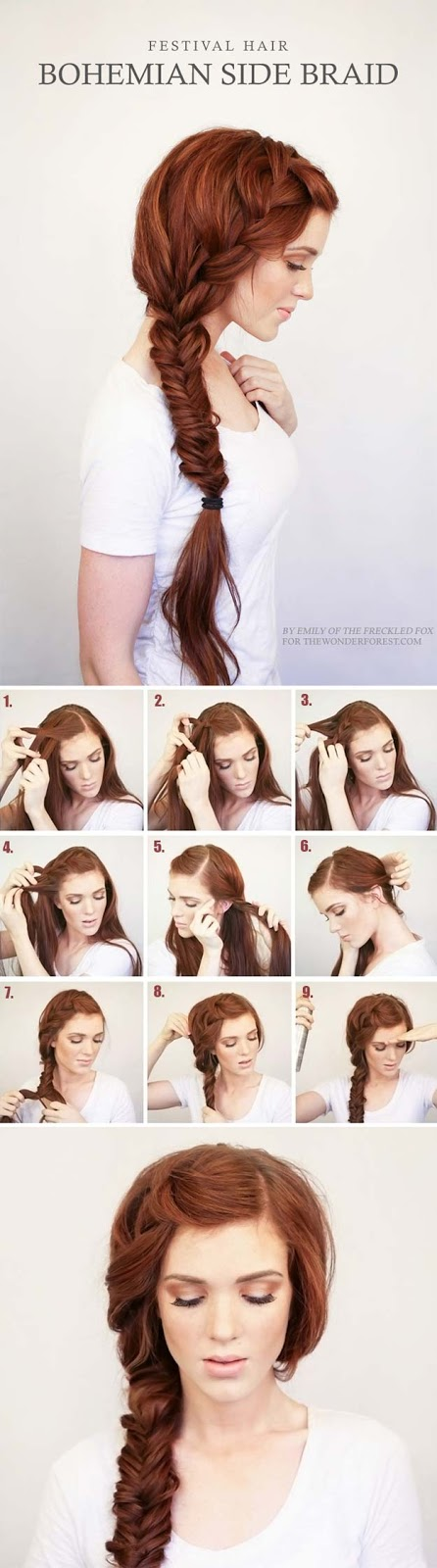 6 cutest easy braided hair tutorial in 10 minutes 4