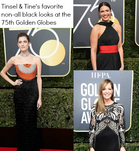 75th Golden Globes Red Carpet Best Looks with pops of color