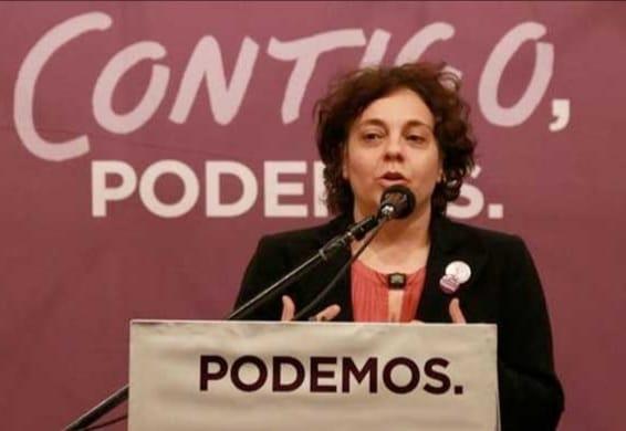 """Gloria Elizo: """"La única manera de desvincular a Juan Carlos I de la Jefatura del Estado es un referéndum y la abdicación de Felipe VI"""""""