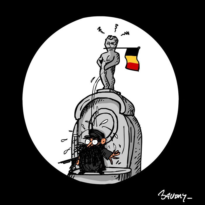 #PrayForBrussels: Let's Show The World That We Are UNITED! - #1 Pisse Love And Freedom