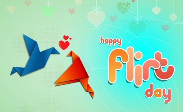 Flirting Day Images 2020