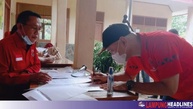 DPC PDIP Tanggamus Gelar Musancab Serentak, Sopian Jabat Ketua PAC Kotaagung Barat