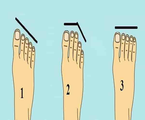 اعرف شخصيتك من أصابع قدمك !