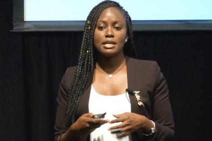 Meet Genius Nigerian Lady Who's First Black Woman To Earn PhD In Aerospace Engineering
