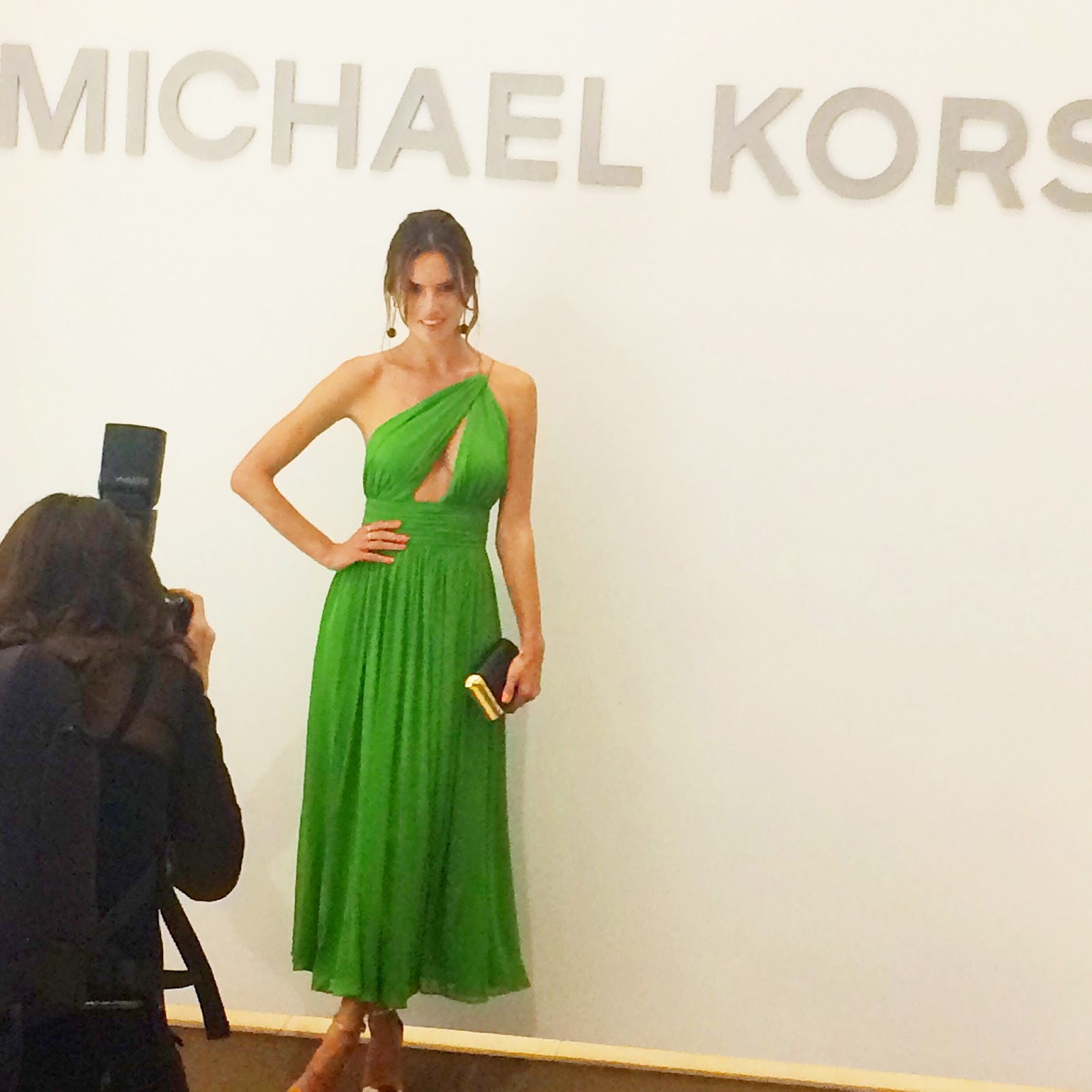 Alessandra Ambrosio at the opening of Michael Kors in Panama City