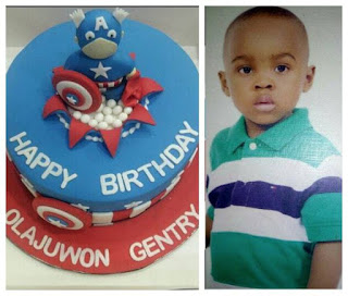 Mercy Aigbe's husband, Lanre wishes son Happy birthday as he clocks 7 2