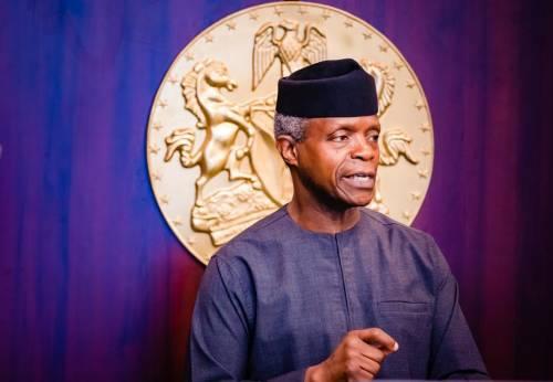 Osinbajo extols media's role in Nigeria's development