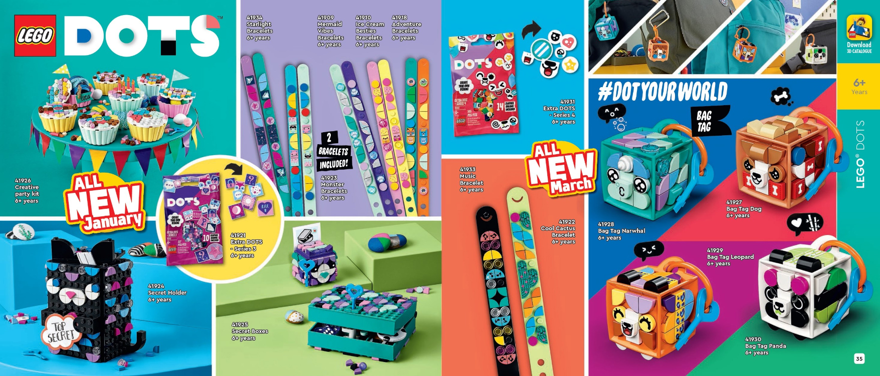 2021年1月発売レゴ新製品オンラインカタログ公開