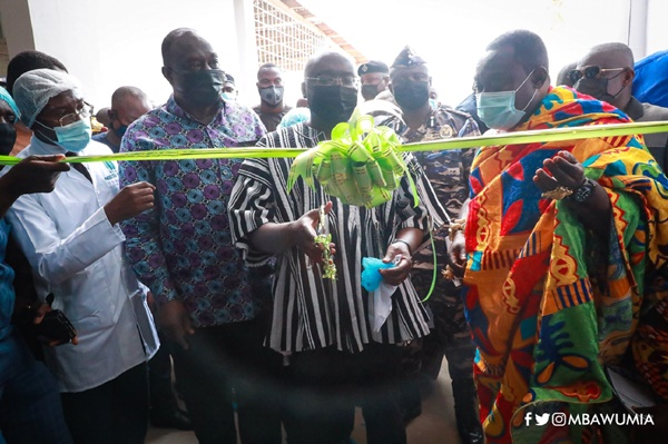 Vice President Bawumia Commissions 77th One District One Factory in Nsawam