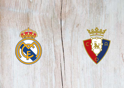 Real Madrid vs Osasuna Full Match & Highlights 25 September 2019