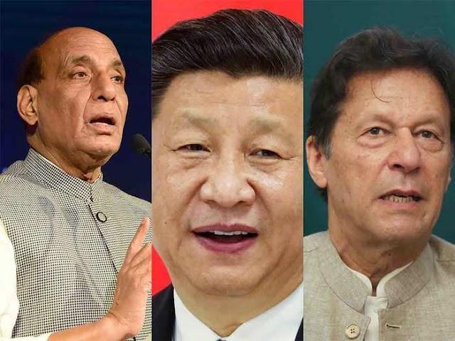 चीनी रक्षा मंत्री के सामने भारतीय रक्षा मंत्री राजनाथ सिंह ने चीन और पाकिस्तान की जमकर खबर ली
