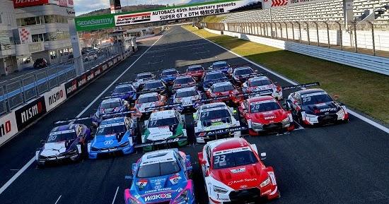 Fuji Test: DTM Fahrer liegen noch zurück