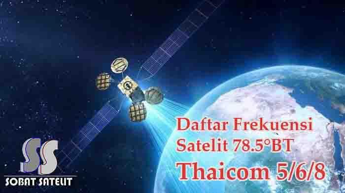 Frekuensi Lengkap Satelit Thaicom 5 Terbaru - Sobat Satelit