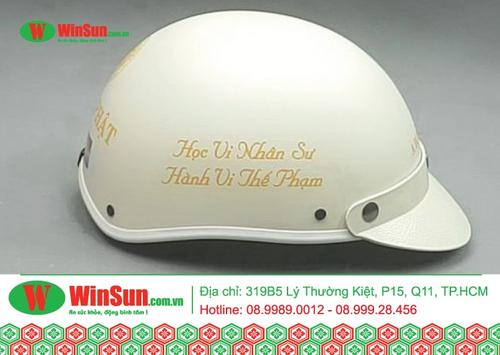 Cách nhận diện nón bảo hiểm chính hãng