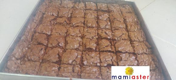 Brownies Milo MAMI ASTER yang senang dan mudah disediakan