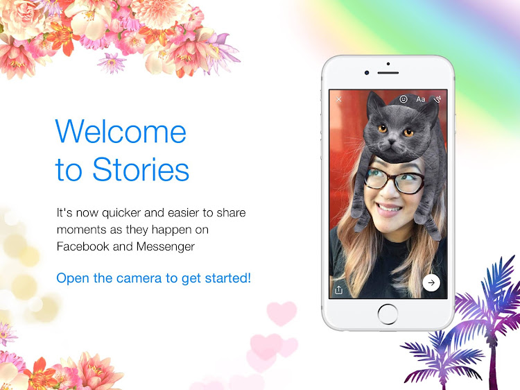 Facebook Welcome to Stories