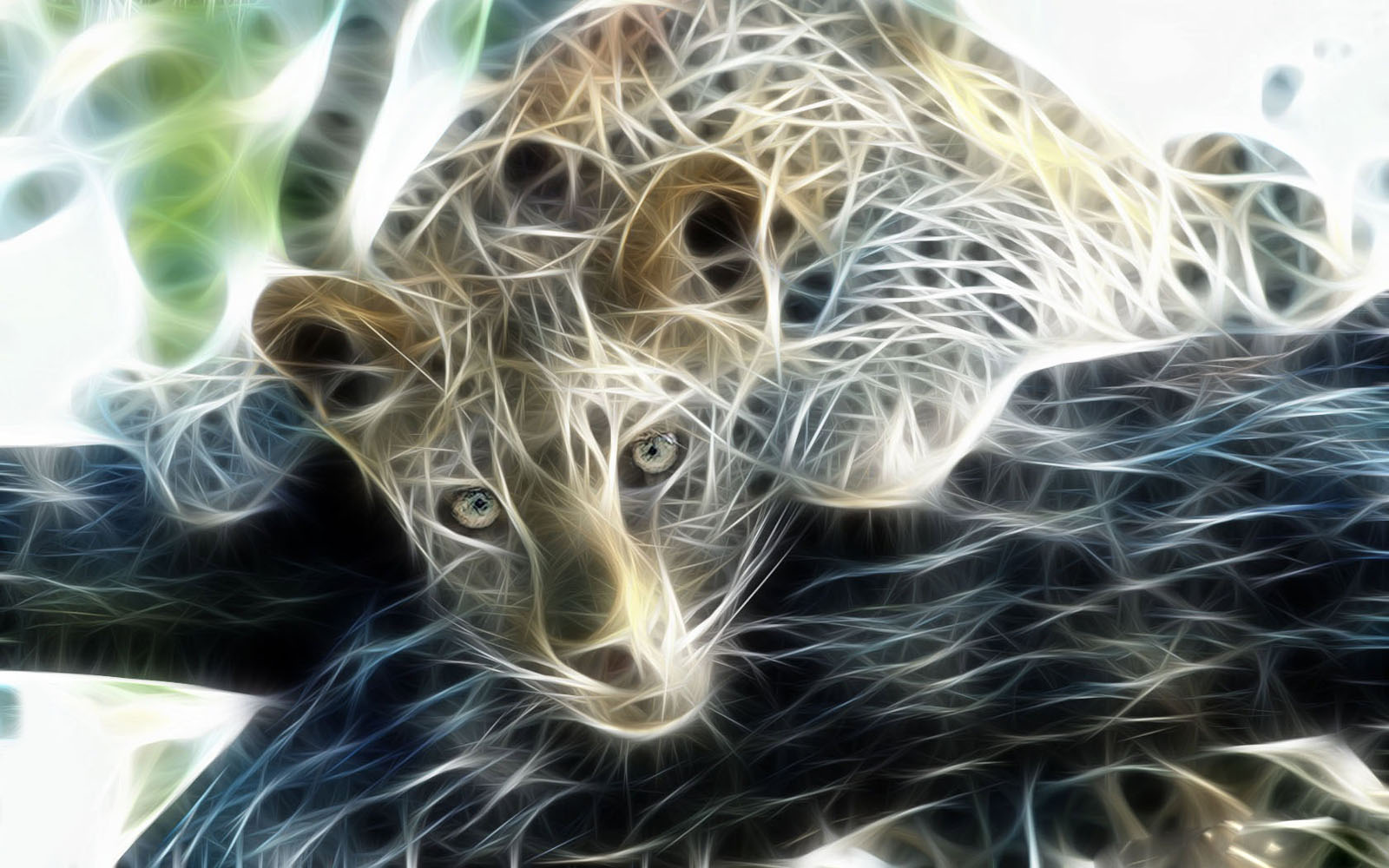 Digital Leopard Art Wallpapers: Wallpapers: Leopard 3D Wallpapers