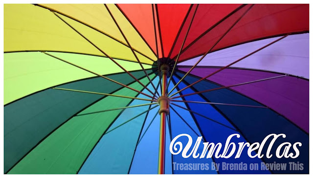 Umbrella: The Word, History, Origin, Parts and A Few of My Favorites