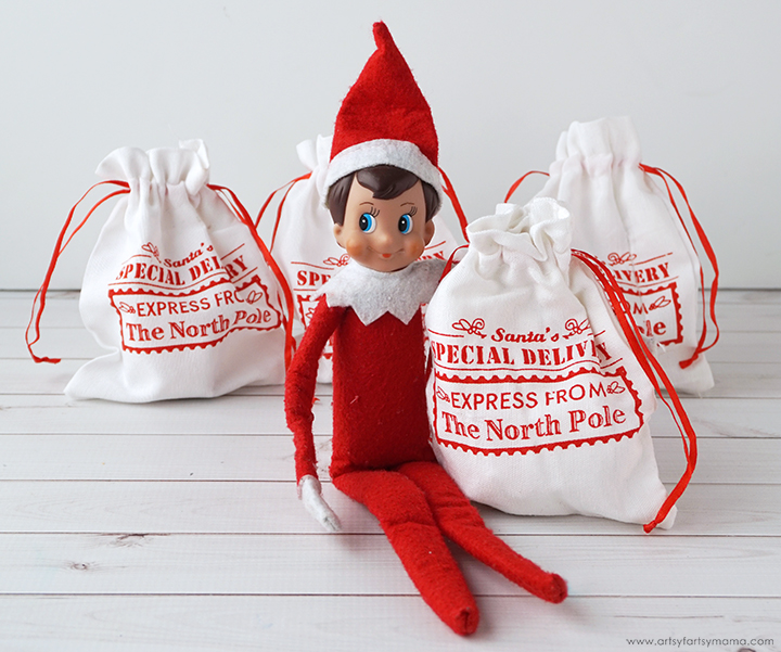 Elf on the Shelf Secret Delivery Bags