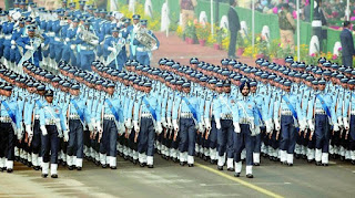 26 january republic day parade by air force