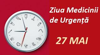 27 mai: Ziua Medicinii de Urgență