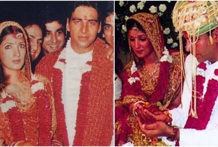 twinkle khanna and akshay kumar wedding album