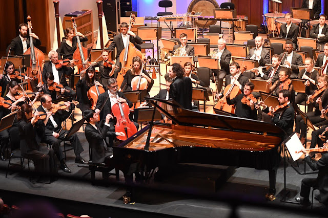 Beethoven: Piano Concerto no. 4 - Eric Lu, Orchestre National de Lille, Alexandre Bloch (Photo Copyright Ugo Ponte ONL)
