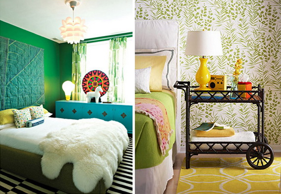 Amazing colorful bedroom design decoration | Ideas for ... - photo#6