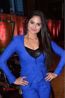 Actress Naina Ganguly Stills in Blue Dress at RGV Shiva to Vangaveeti Event  0004.JPG