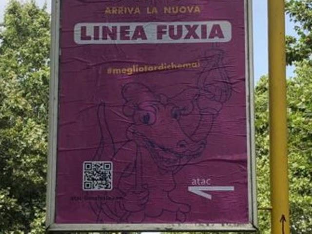 Roma, finta linea «fuxia» dedicata alle donne: l'Atac valuta azioni legali
