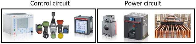 What is switchgear? What is it made of? power and control circuit
