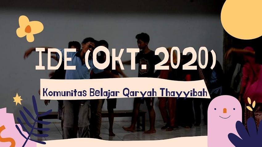Ide Oktober 2020: Keadaan Warung Sekitar Saat Pandemi