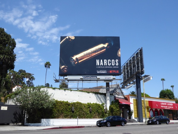 Narcos season 2 billboard