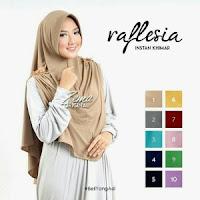 jilbab instan syar'i khimar raflesia