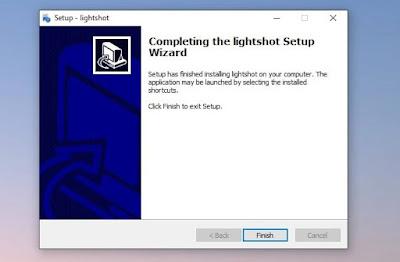 Cara Install Lightshot