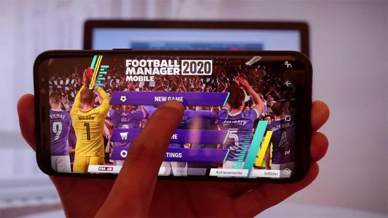 تحميل لعبة football manager مهكرة للاندرويد 2020 , FM Apk+Obb